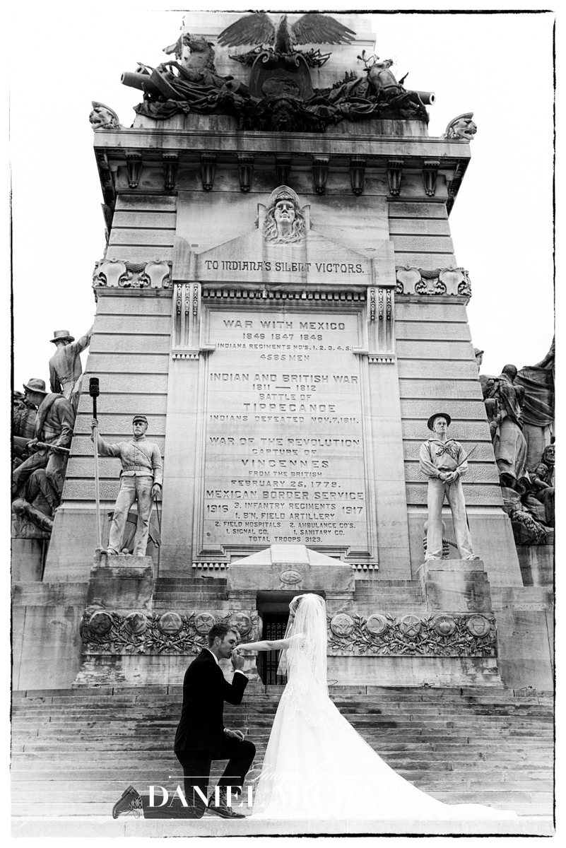 Circle Monument Wedding Photographer