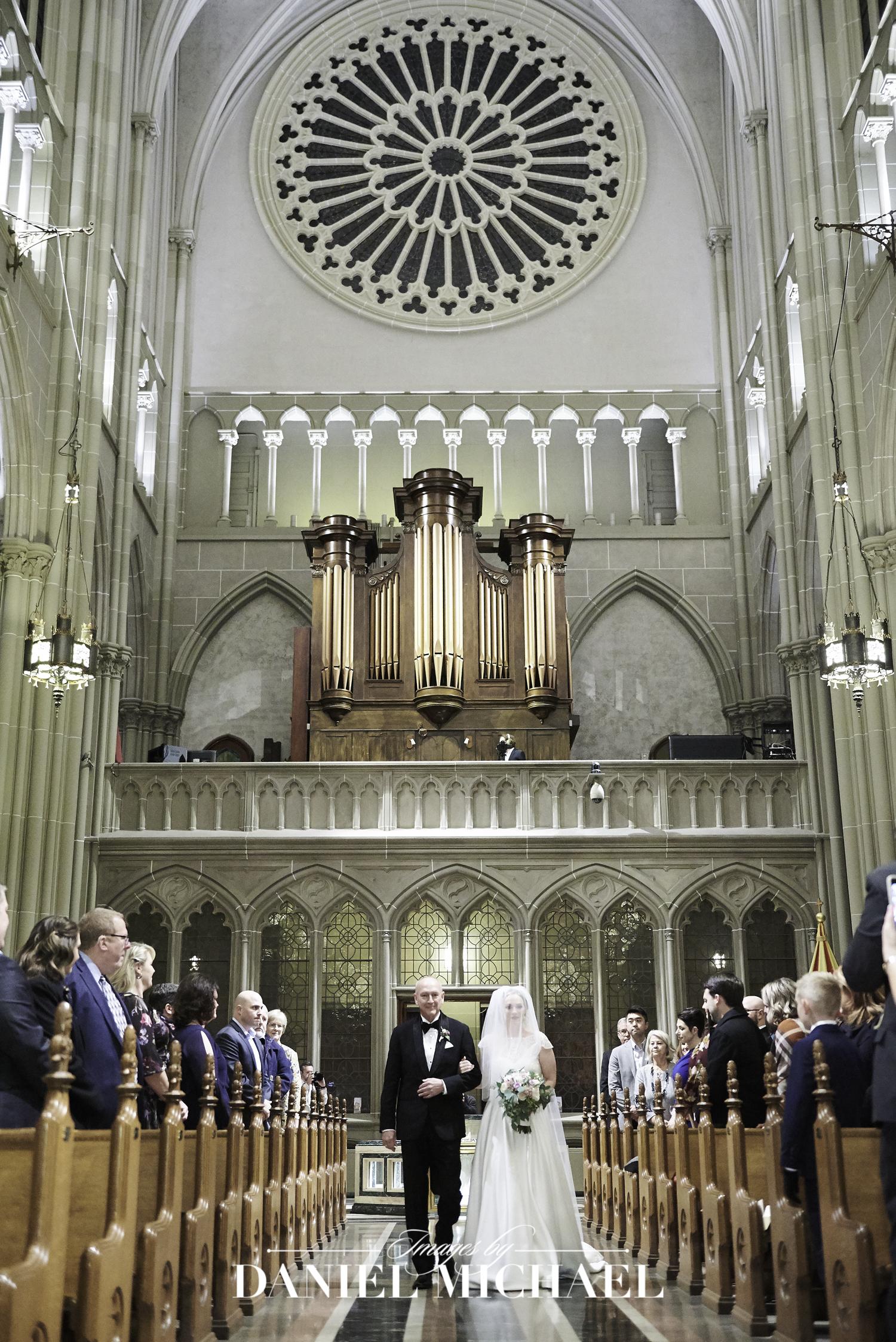 Wedding Ceremony Basilica Covington