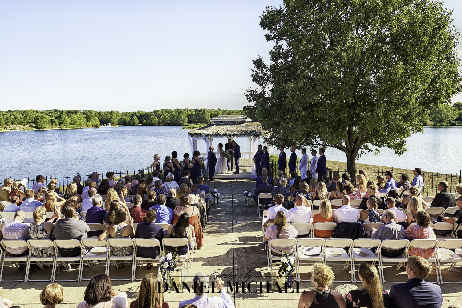 Lake Lyndsay Lodge Wedding Ceremony