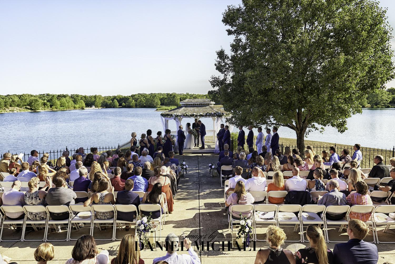 Lake Lyndsay Lodge Wedding Ceremony