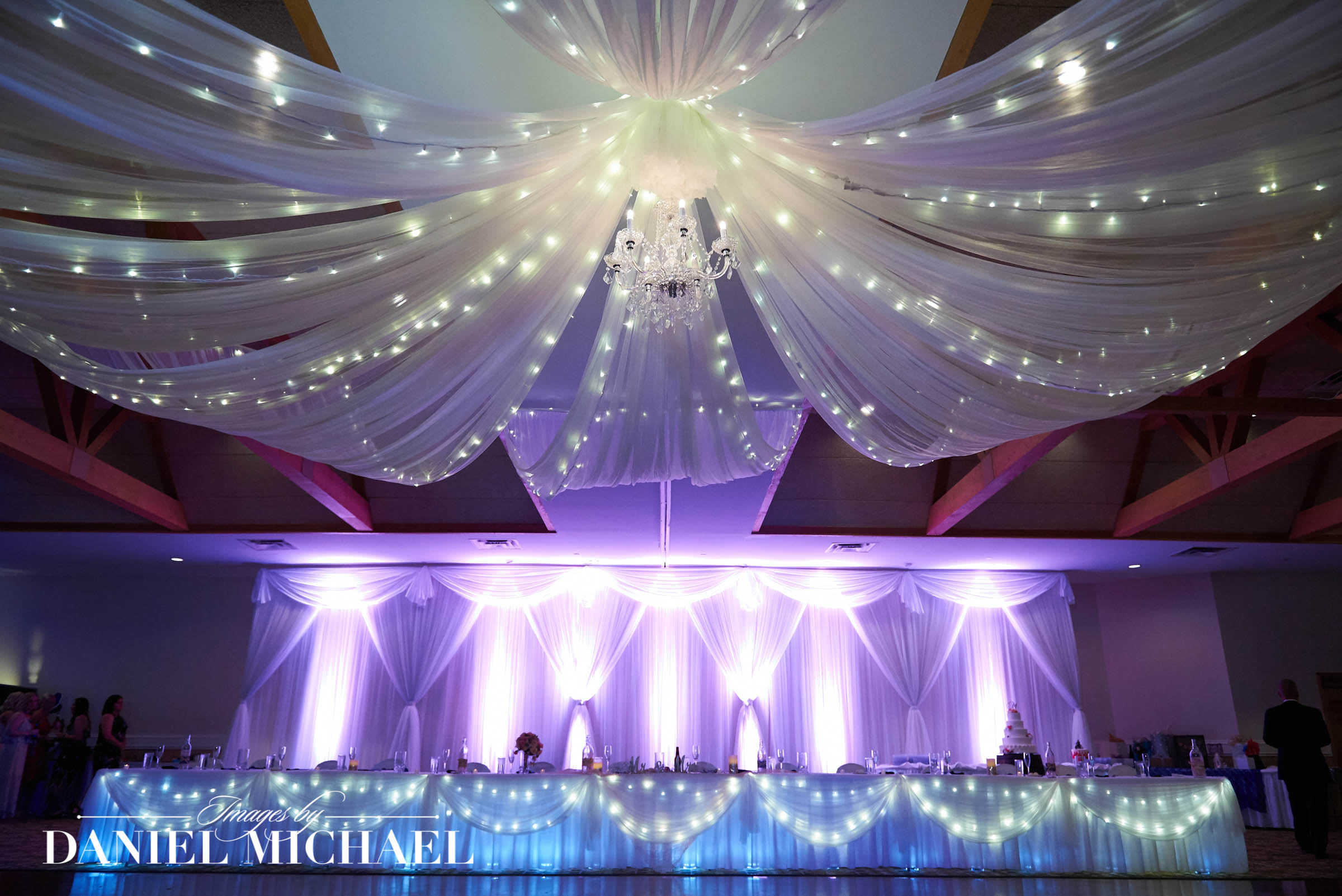 Wedding Reception Lighting and Decor