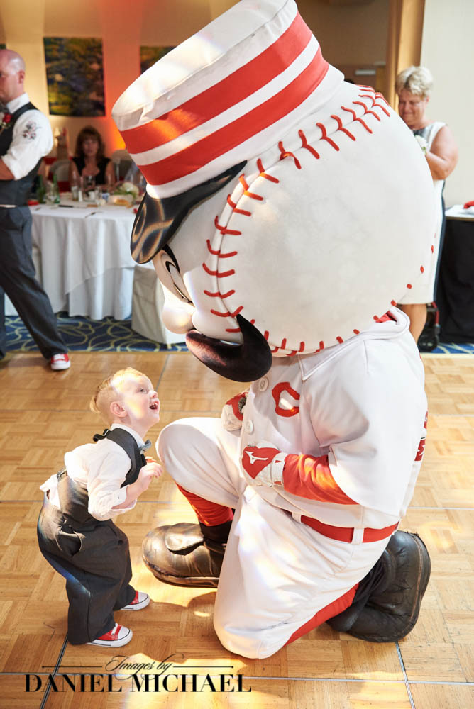 Mr Redlegs at your wedding