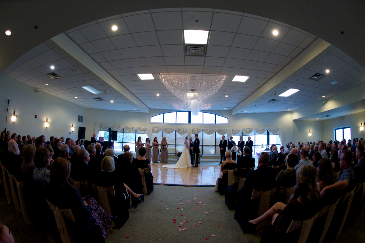 Beavercreek Golf Club Wedding Ceremony