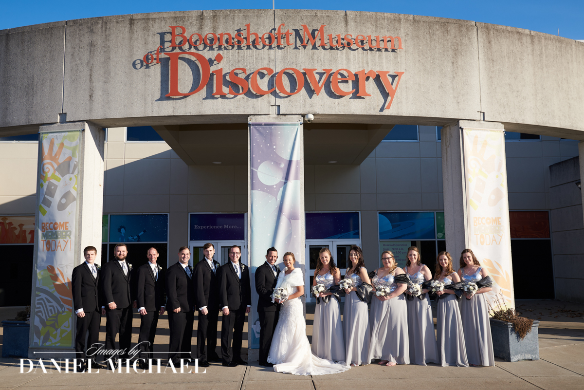 Boonshoft Museum Wedding Venue Photos