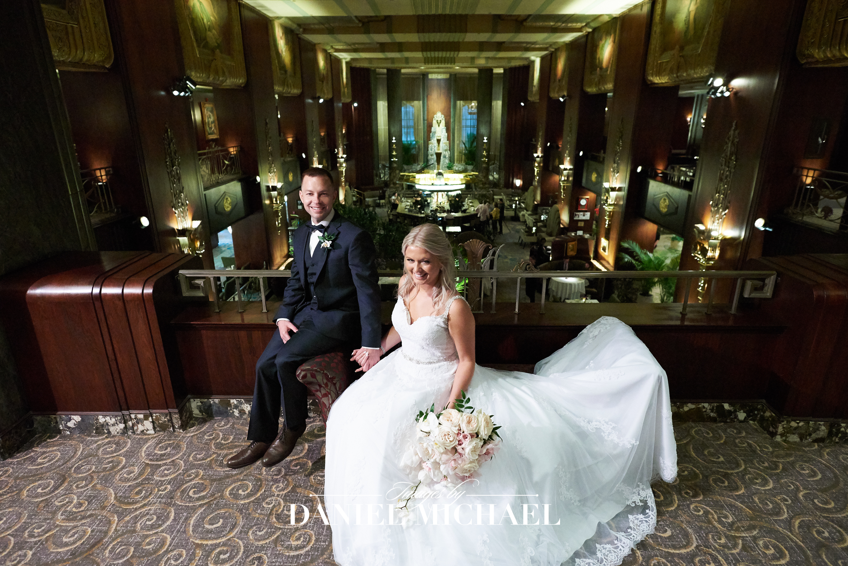 Hilton Hall of Mirrors Wedding Photographer