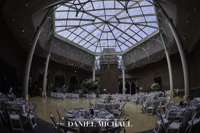Dayton Art Institute Wedding Reception