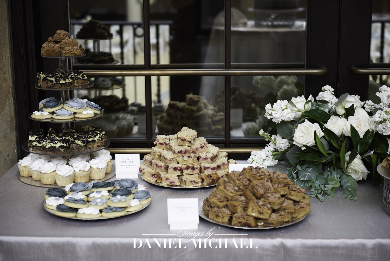 Desert Table for Wedding Reception