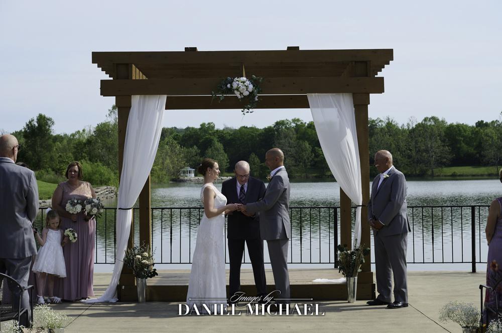 Lake Lyndsay Wedding Ceremony