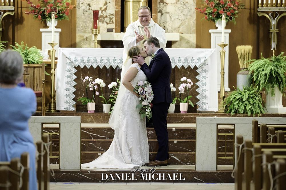 St Dominic Wedding Ceremony Photography