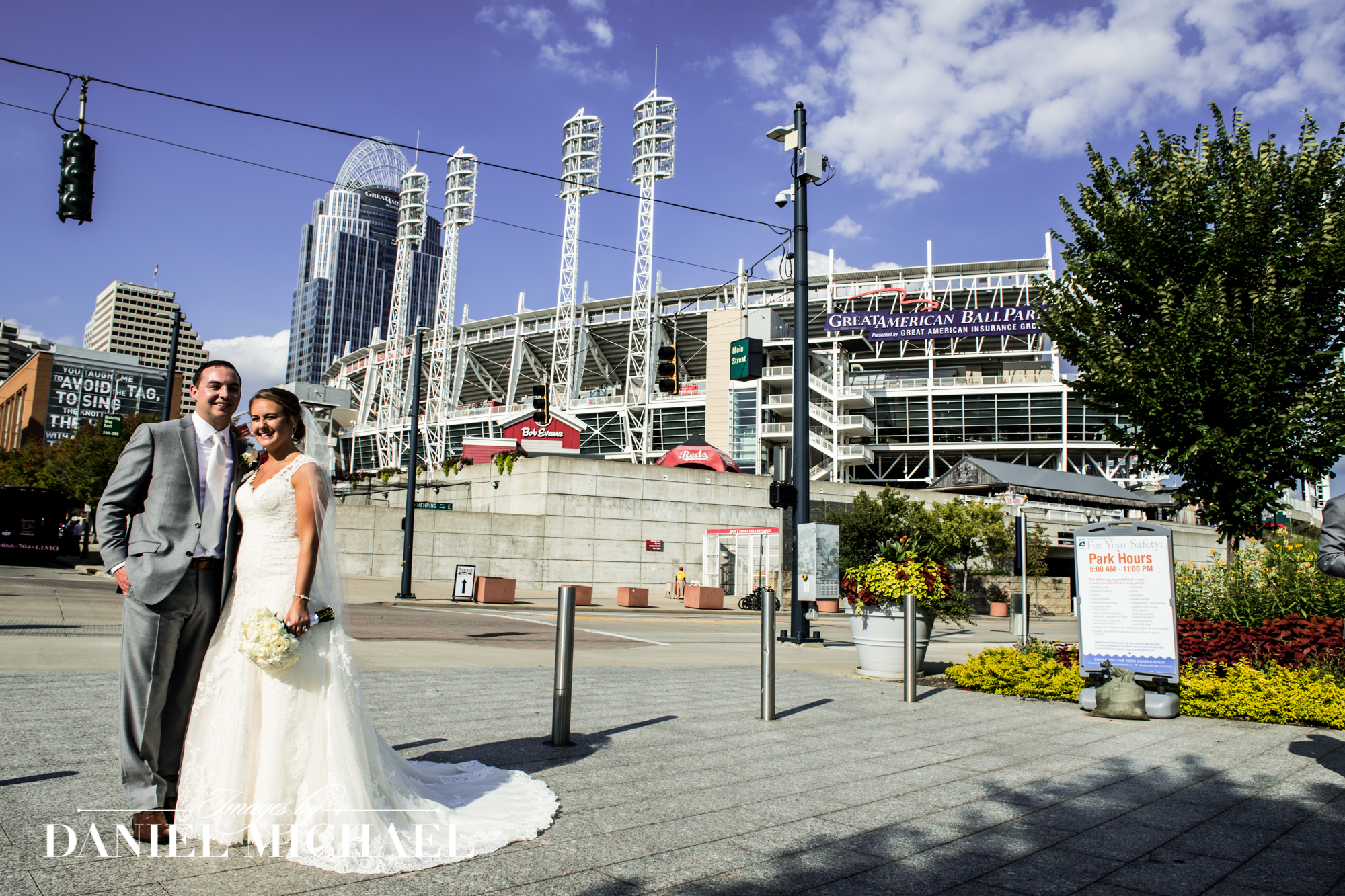 Great American Ballpark Wedding Photography