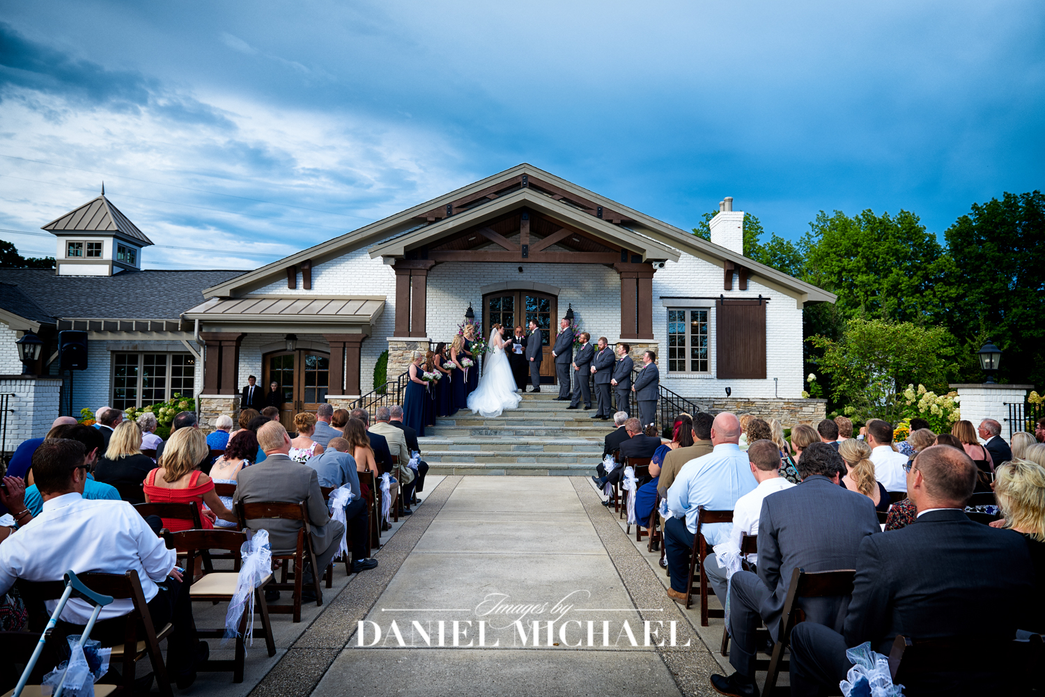 Wedding Ceremony Manor House Carriage House
