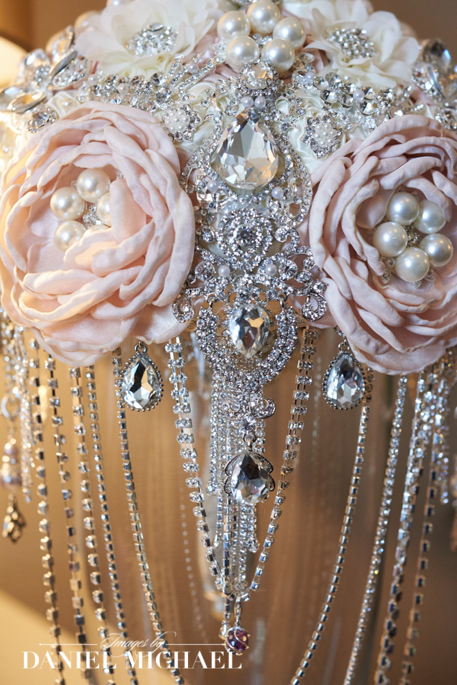 Wedding Bouquet with Jewels