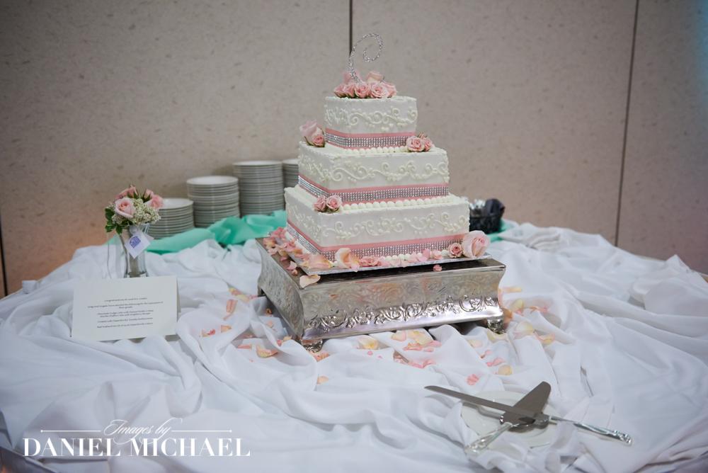 Dessertworks Wedding Cake