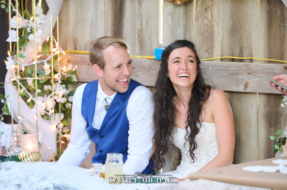 Wedding Toast Laughing Reactions