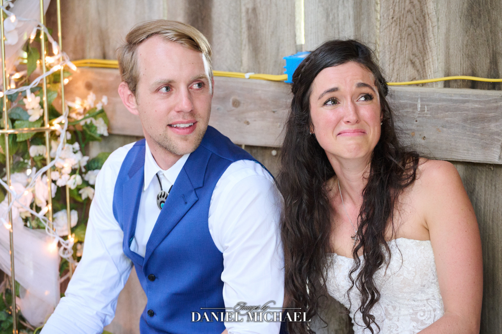 Wedding Toast Emotional Reactions