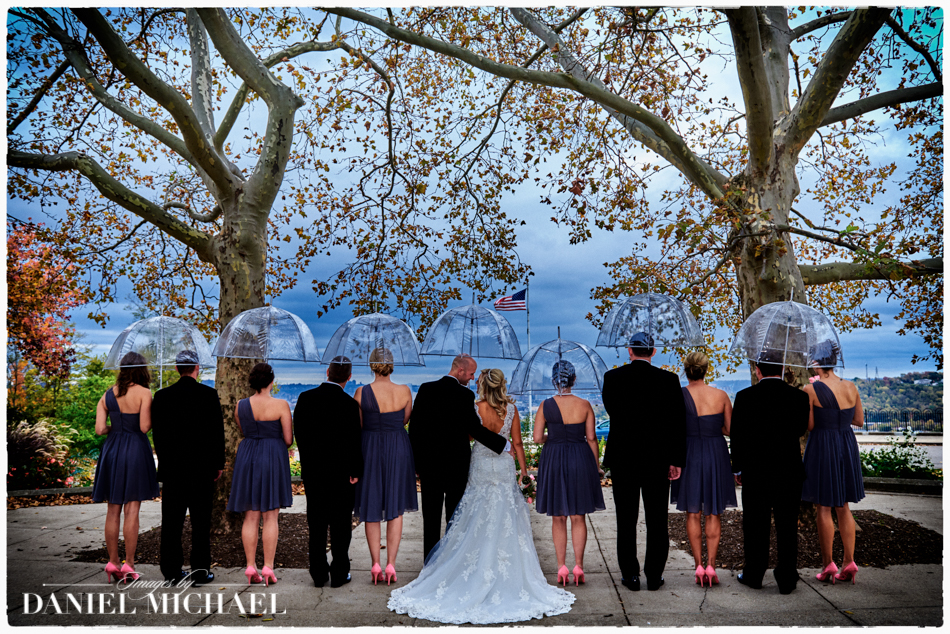 Wedding Photography with Umbrellas