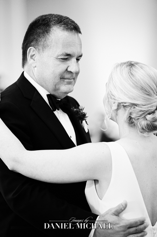 Father Daughter Wedding Photo