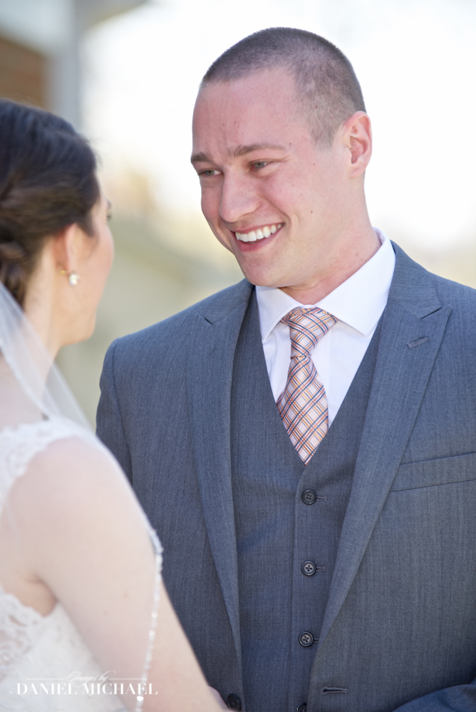 Groom's First Sight Photography