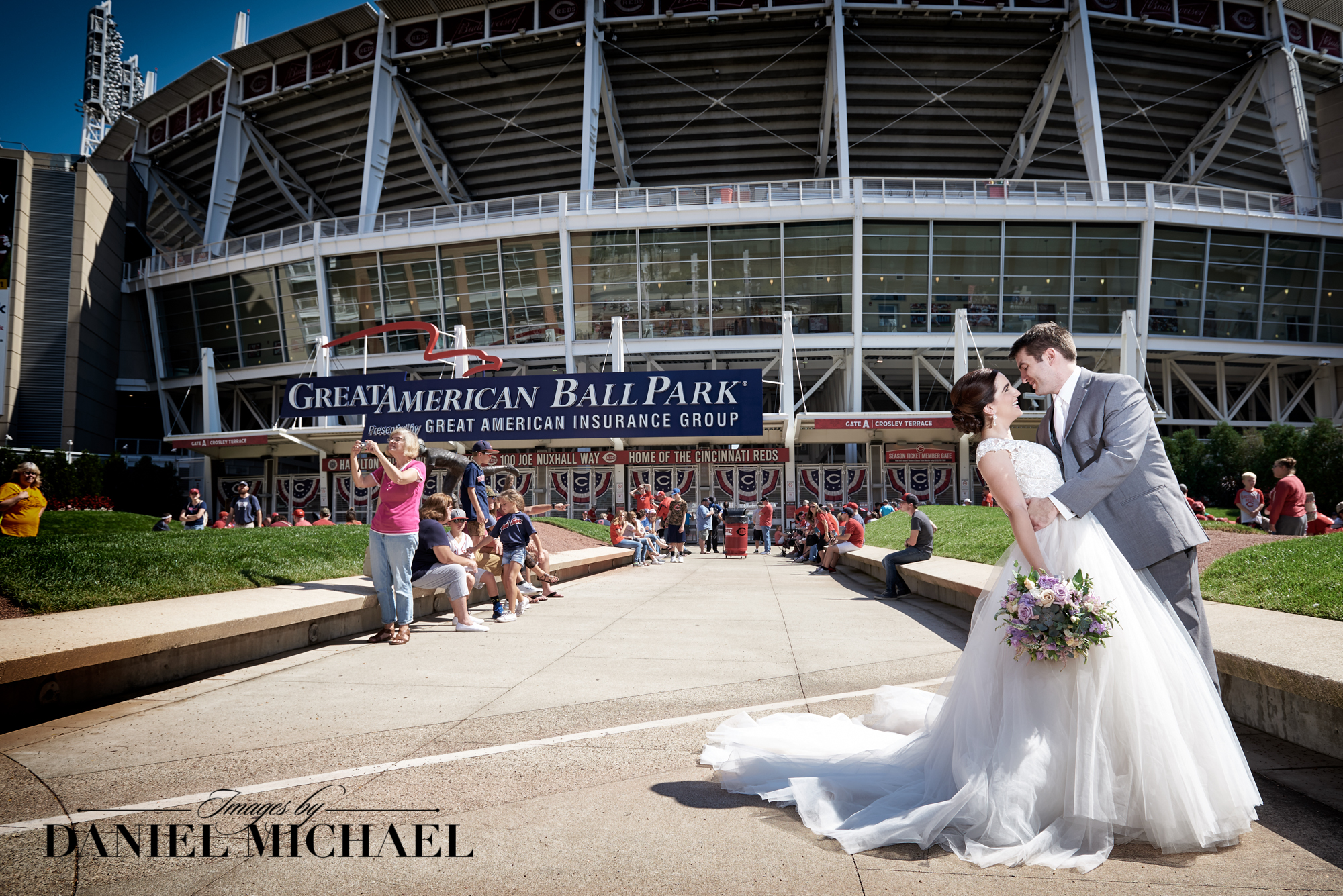 Wedding Photography Great American Ballpark