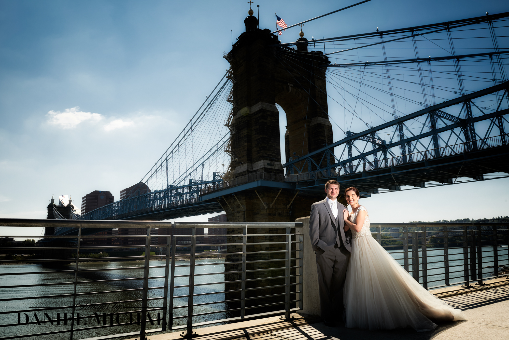 Wedding Photography Roebling Bridge