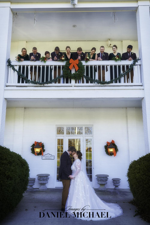 Wedding Party at Pebble Creek