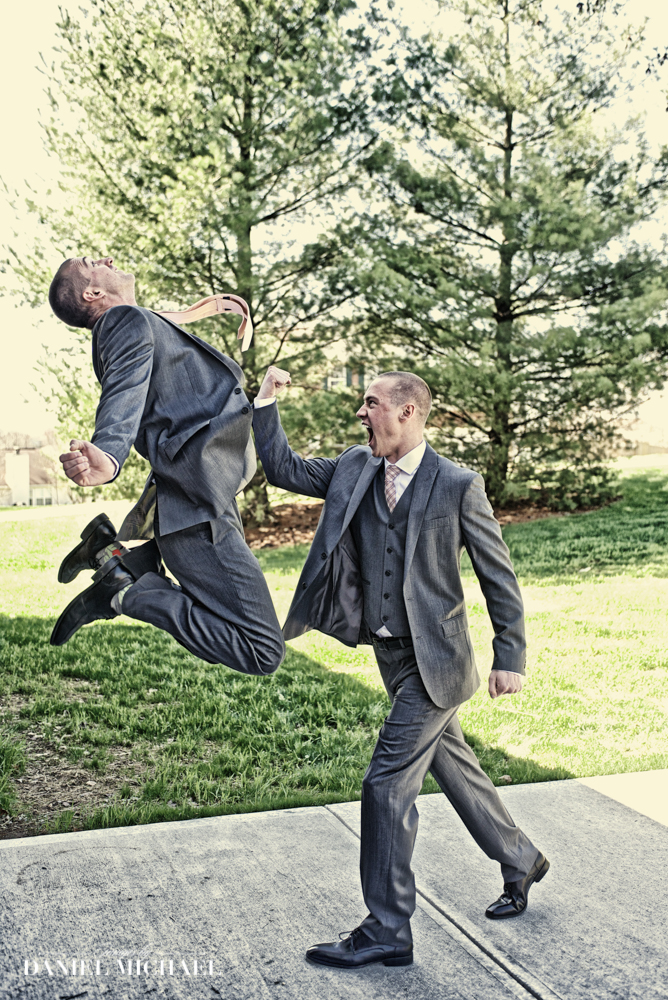 Fun Groomsman Photography