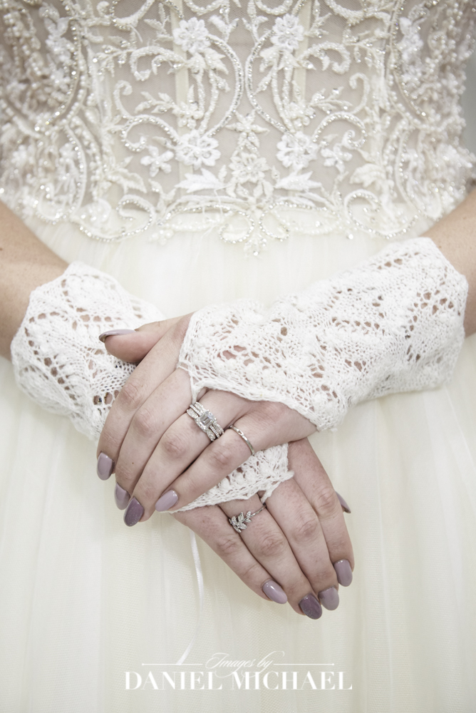 Crochet Wedding Gloves