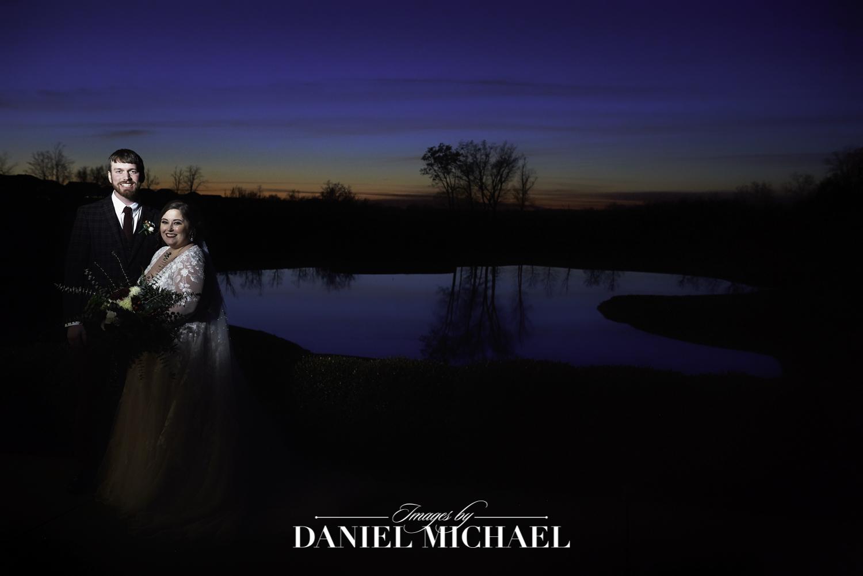Sunset Pebble Creek Wedding Photography