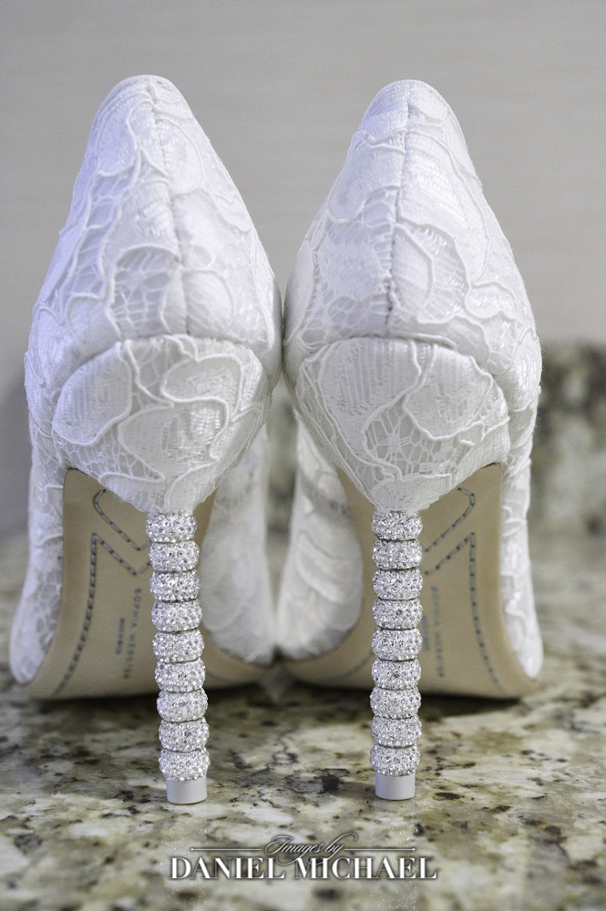 Wedding Photography of Bride Shoes