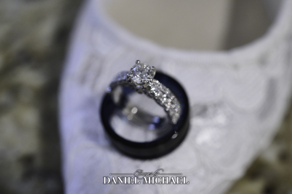Wedding Rings Photo on Shoes