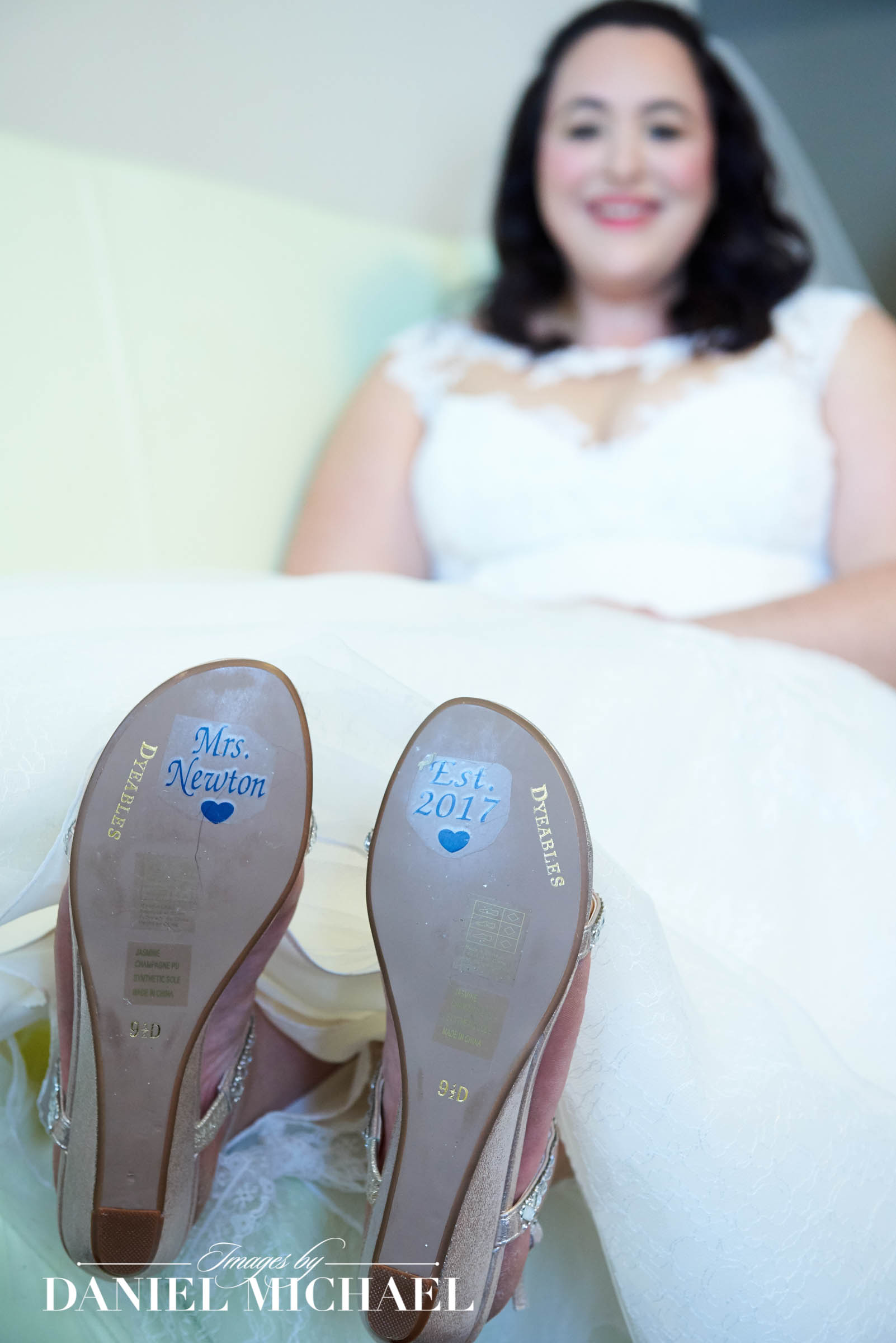 Wedding Shoe Stickers Photos
