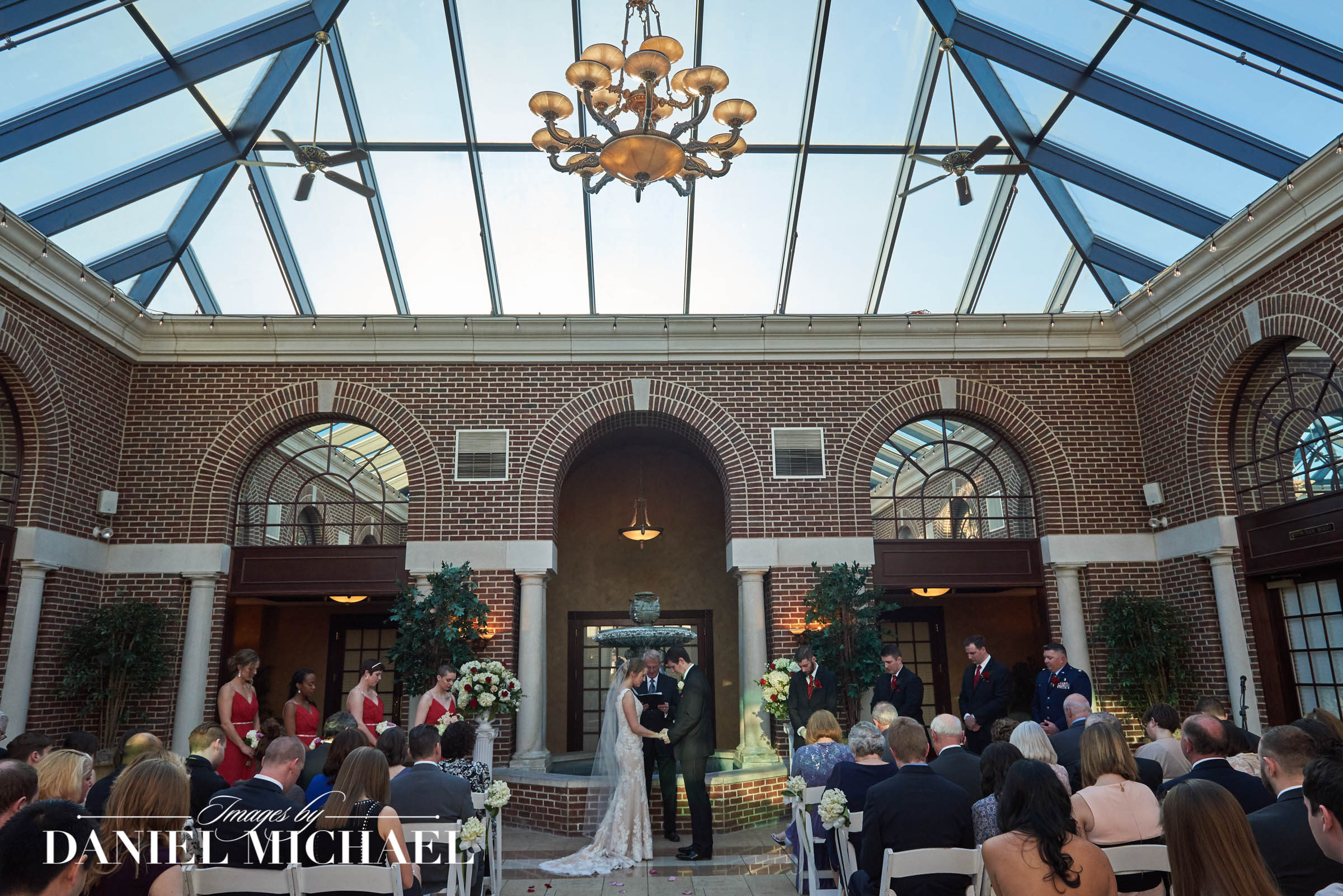 Wedding Ceremony Manor House Atrium