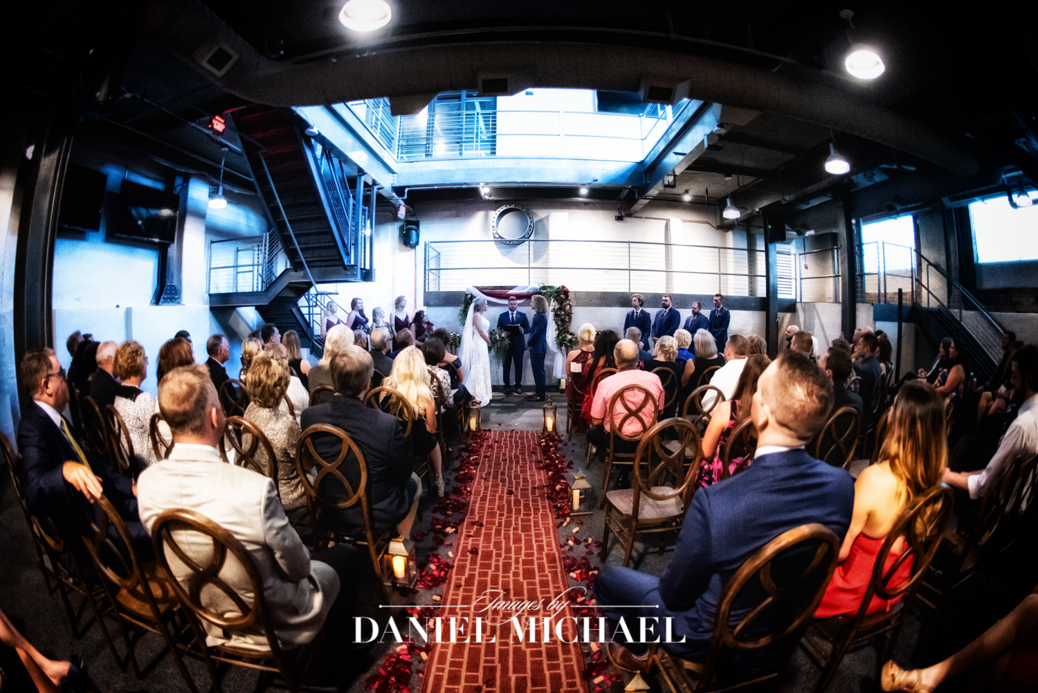 Steam Plant Wedding Ceremony Photographer