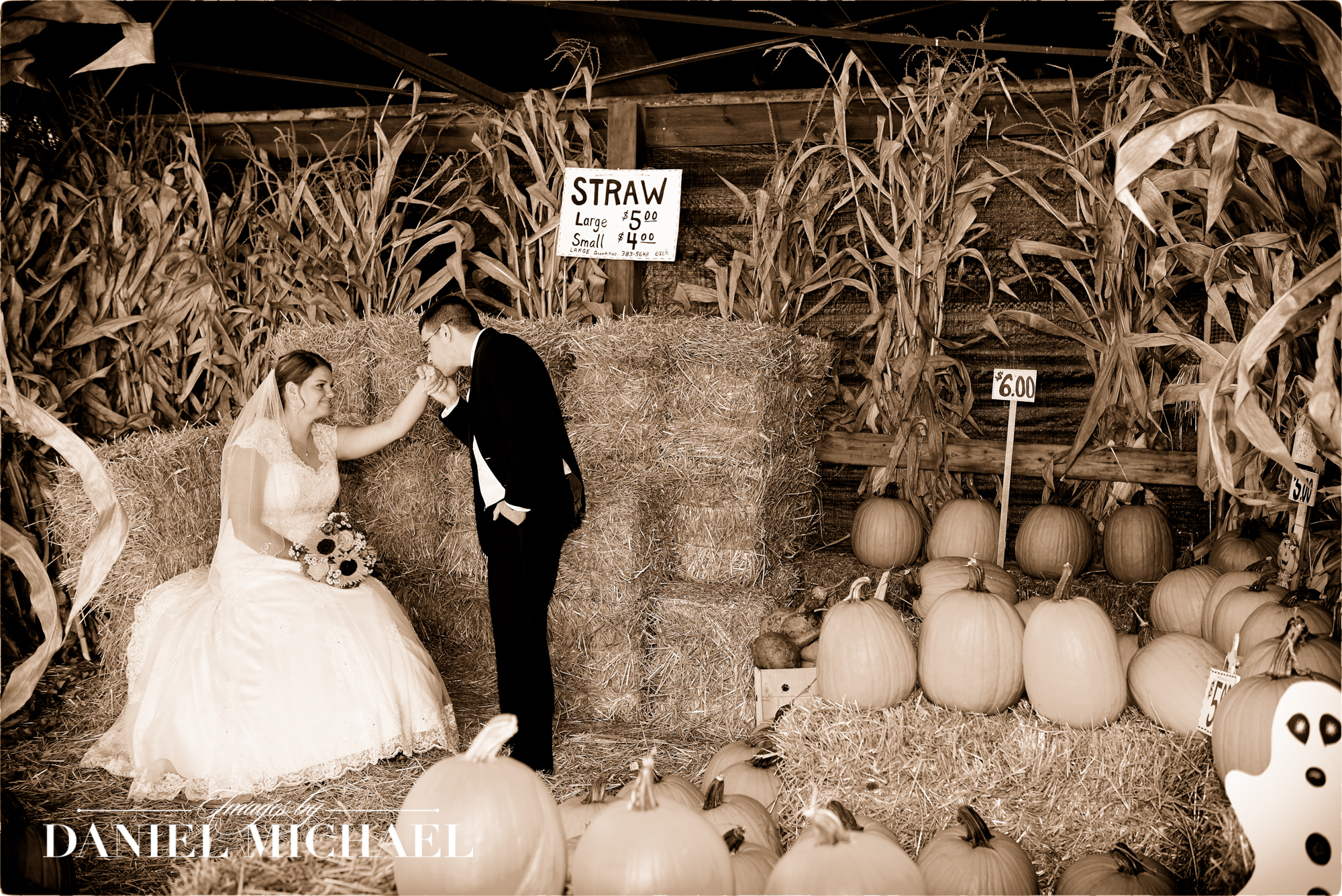 Fall Halloween Wedding Photography