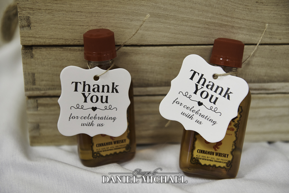 Fireball Favors for Wedding