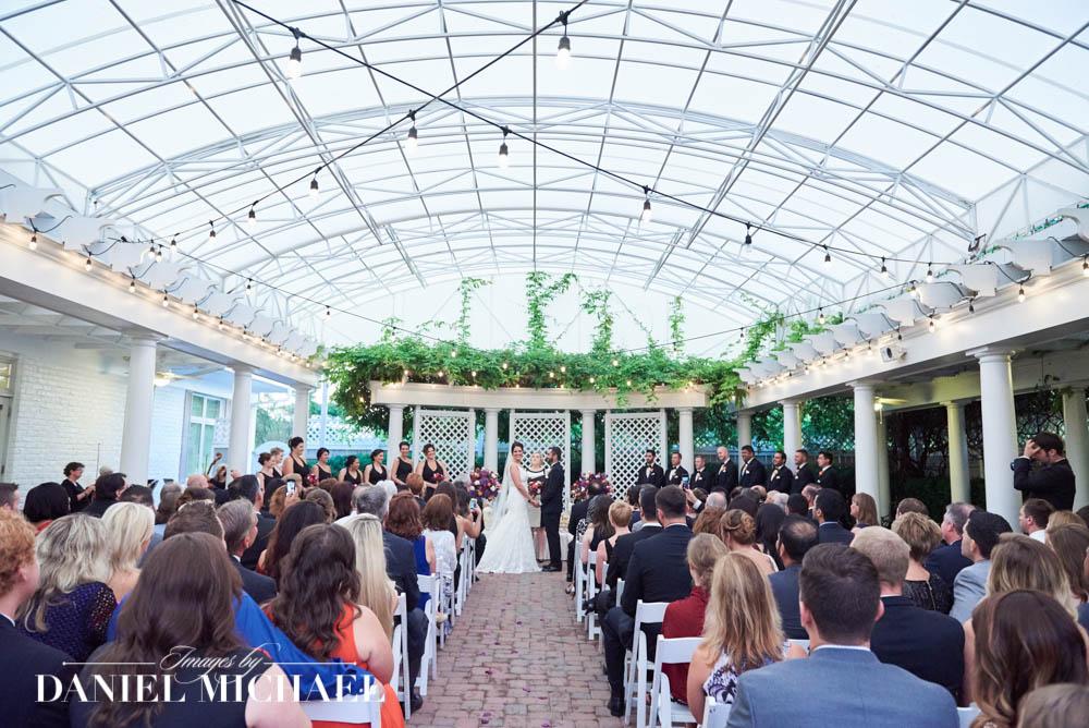 Wedding Ceremony Manor House Courtyard