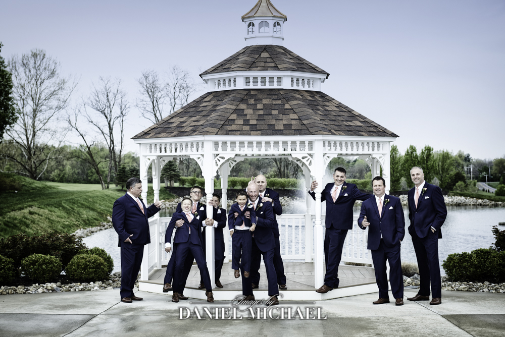 Oasis Gazebo Groomsmen Wedding