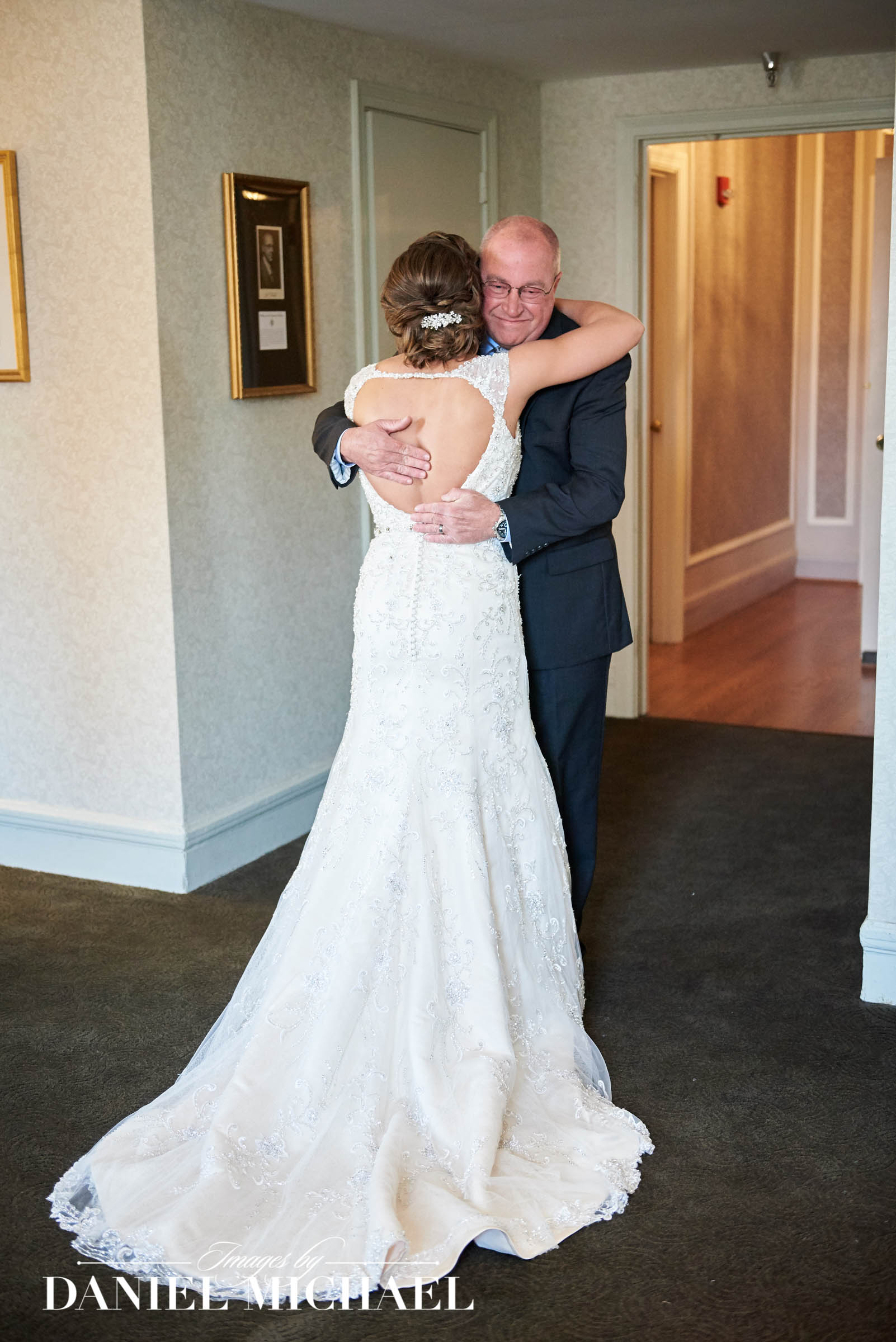 Wedding Photography Bride and Dad