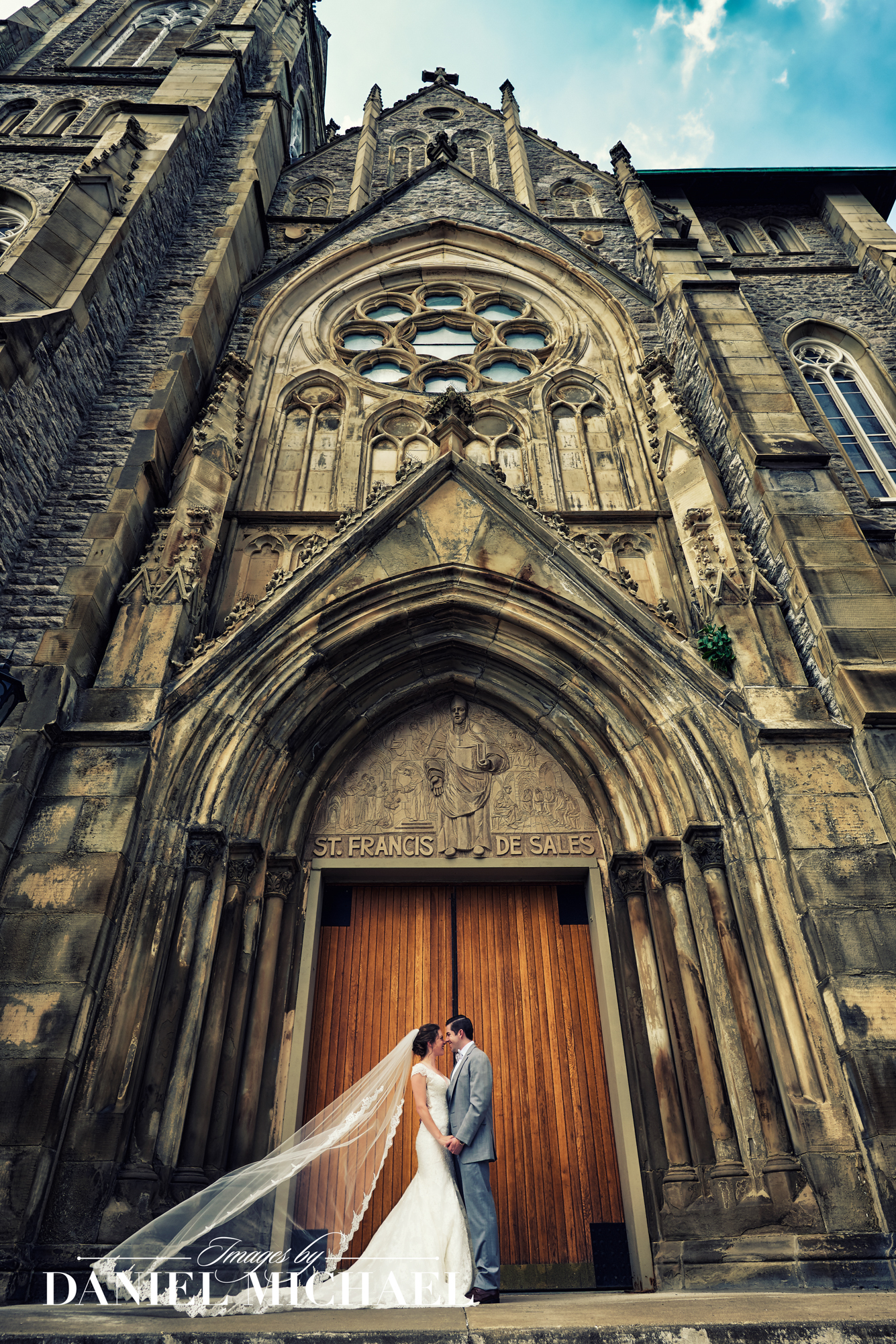 St Francis DeSales Wedding Photographers