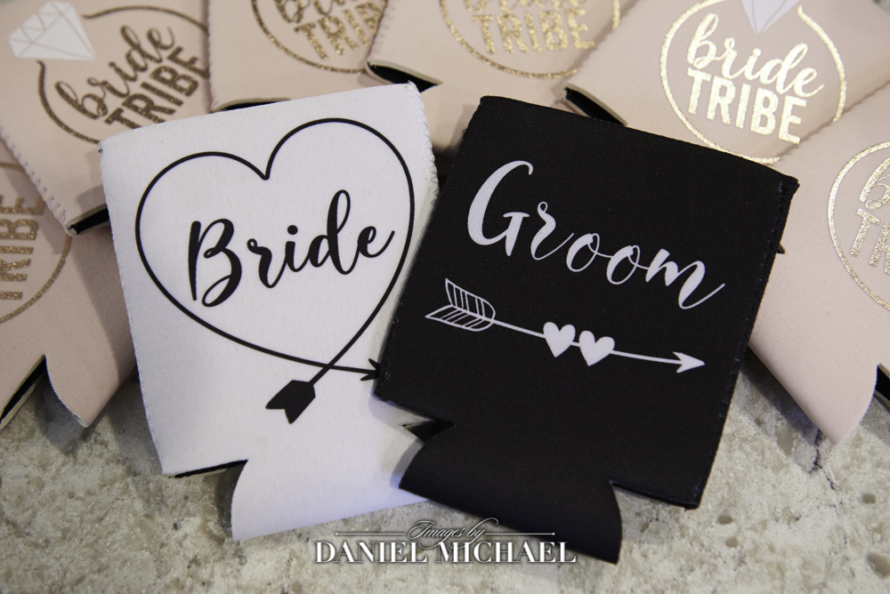 Bride and Groom Coozies
