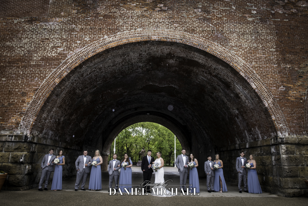 Wedding Party Photo at Sawyer Point