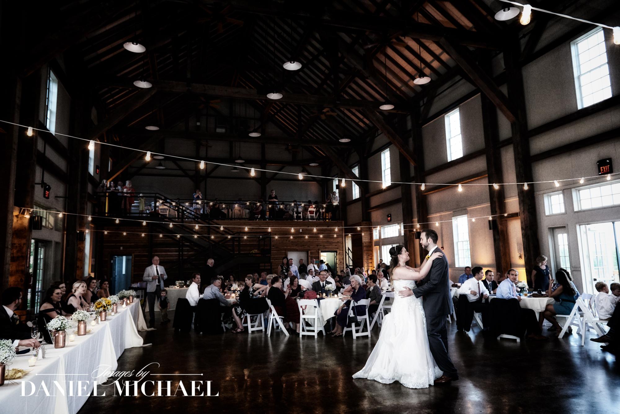 Mulhauser Barn Wedding Reception