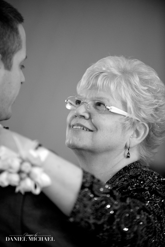 Mother Son Dance Wedding Photography