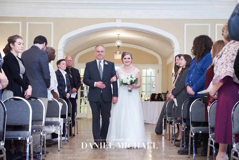 Oxford Community Arts Center Wedding Ceremony