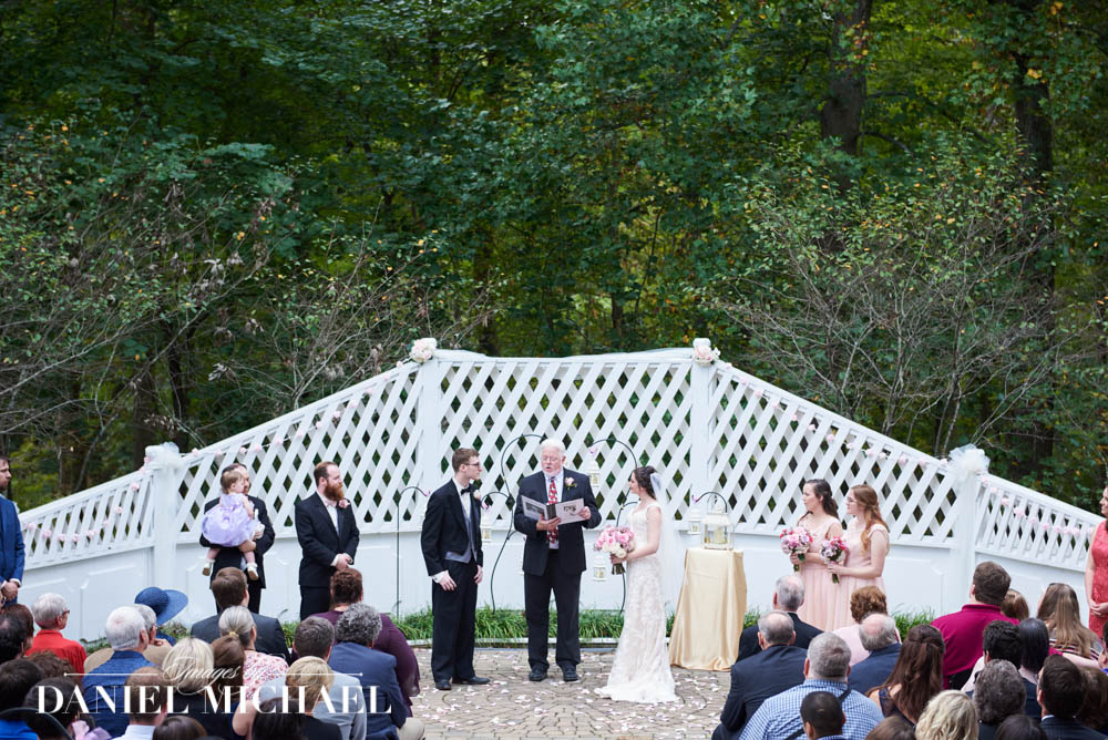 Withrow Nature Preserve Wedding Ceremony