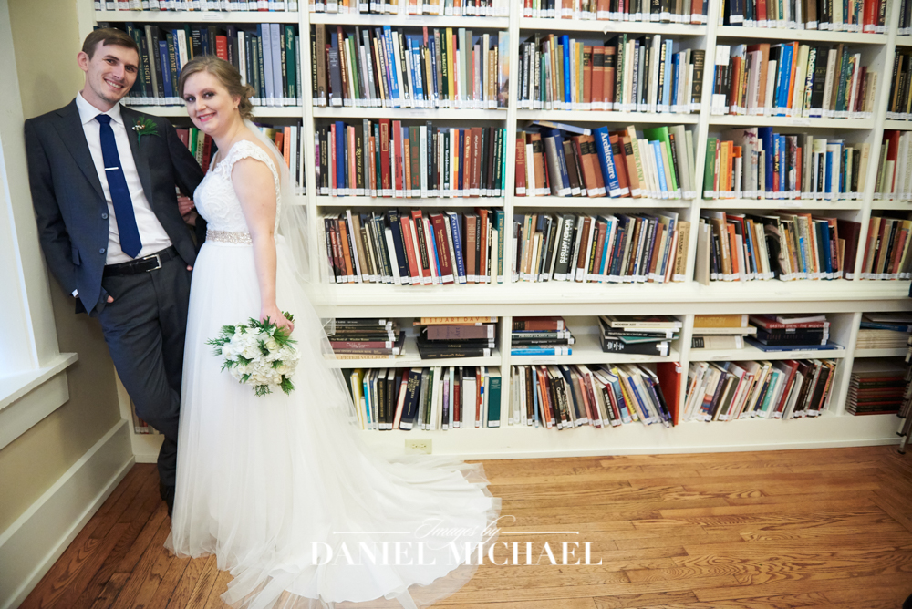 Wedding Photography in Library