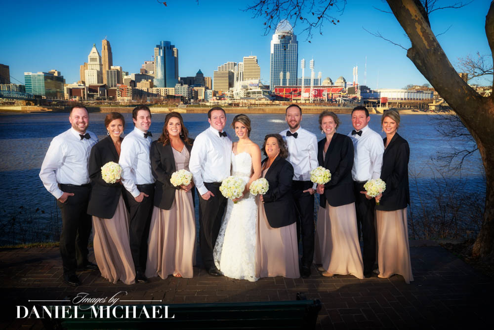 Cincinnati Skyline Wedding Photographers