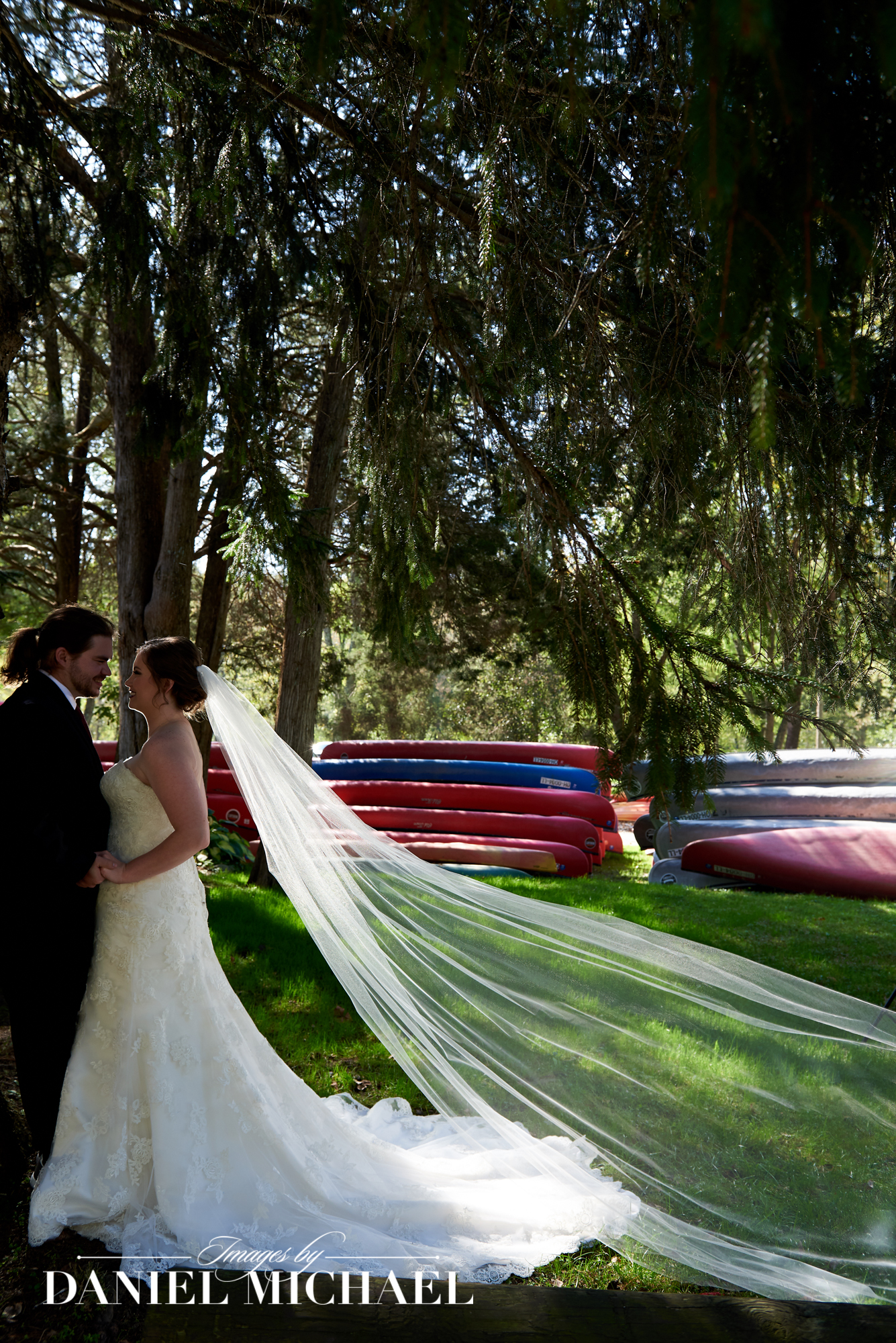 Morgans Canoe Wedding Photos