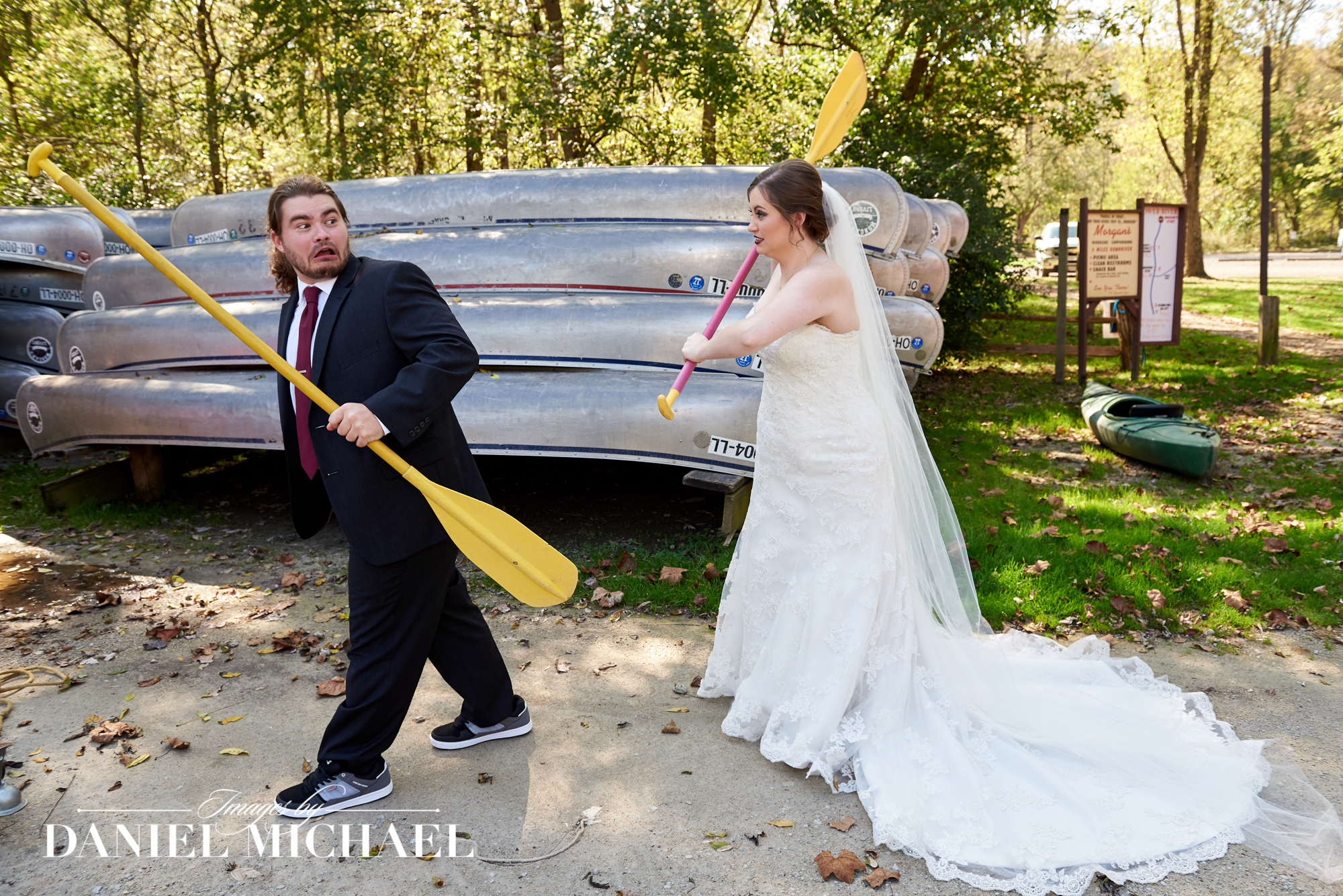 Wedding Photography at Morgans Canoe