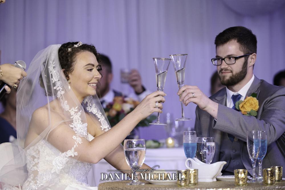 Wedding Toast Photographer